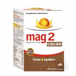 COOPER MAG 2 FORME ET EQUILIBRE 60 COMPRIMES A CROQUER CACAO