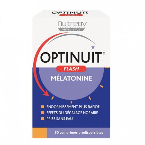 NUTREOV OPTINUIT FLASH MÉLATONINE 30 COMPRIMÉS
