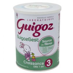 Guigoz Gest Croissance lait 3ème âge 800 g