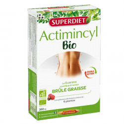 Super Diet Actimincyl Bio Brûle Graisse 20 Ampoules
