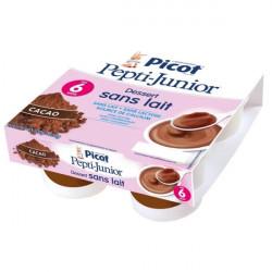 Picot Pepti-Junior dessert sans lait crème cacao 4 pots