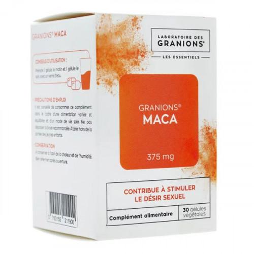 Granions Maca 375mg 30 gélules