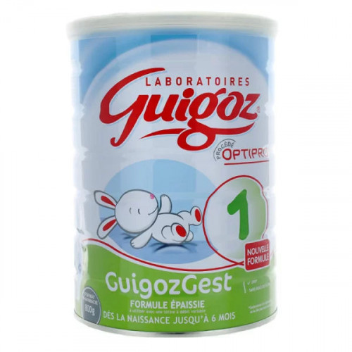 Guigoz Gest Formule Epaissie lait en poudre 1er âge 800 g