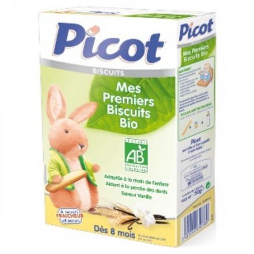 PICOT BISCUIT BIO PREMIER Pâte orale boîte de 4 sachets de 6 biscuits