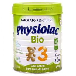 Physiolac Bio 3 lait de croissance 800 g