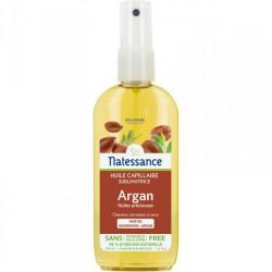 Natessance Huile Capillaire Sublimatrice Argan Sans Rinçage 160 ml