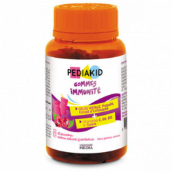 Pediakid immunité framboise 60 gommes