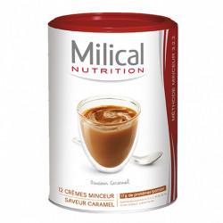 MILICAL Hyperprotéiné Crème minceur Saveur caramel, 12 portions 540g