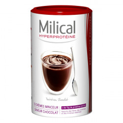 MILICAL Crème minceur saveur chocolat, 12 repas 540g