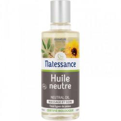 Natessance Huile Neutre Massage et Soin Bio 100 ml