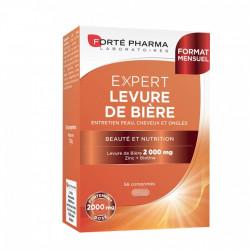 FORTÉ PHARMA LEVURE DE BIÈRE 2000 56 COMPRIMÉS