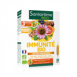 SANTAROME BIO immunité 20Amp/10ml