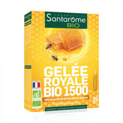 SANTAROME BIO Gelée royale 1500 20Amp/10ml