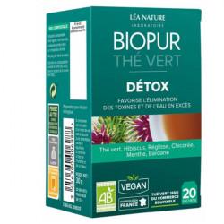 Biopur Thé Vert Détox 20 Sachets