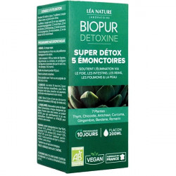 BIOPUR Cocktail Détox 5 émonctoires 200 ml