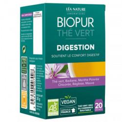 Biopur Thé Vert Digestion 20 Sachets