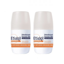 Etiaxil Déodorant Douceur 48H Roll on 2 x 50 ml