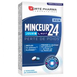 Forté Pharma Minceur 24 Men Jour et Nuit 28 Comprimés