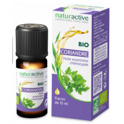Naturactive Huile Essentielle Coriandre Bio 10 ml