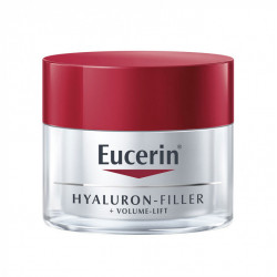 Eucerin Hyaluron-Filler + Volume-Lift Soin de Jour SPF 15 Peau Sèche 50 ml