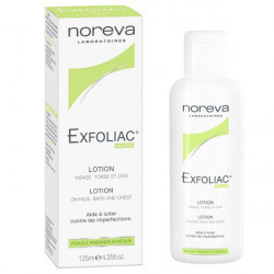 Noreva Exfoliac Lotion Visage Torse et Dos 125ml