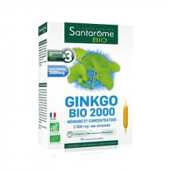 SANTAROME BIO Ginkgo 2000 20Amp/10ml