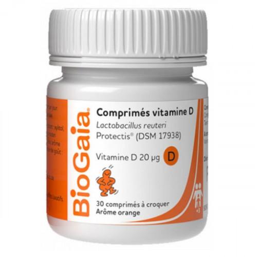 BioGaia Vitamine D 30 Comprimés