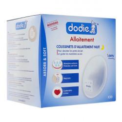Dodie Coussinets d'allaitement de jour ultra-fins 50 coussinets