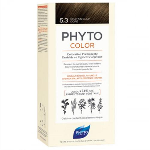 Phyto PhytoColor Kit coloration permanente 5,3 Châtain Clair Doré