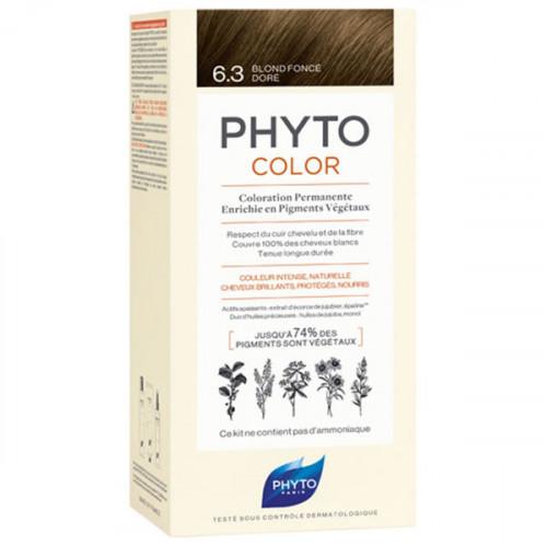 Phyto PhytoColor Kit coloration permanente 6,3 Blond Foncé Doré
