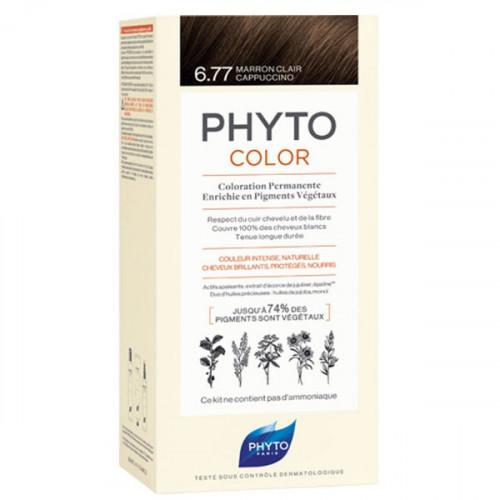 Phyto PhytoColor Kit coloration permanente 6,77 Marron Clair Cappuccino
