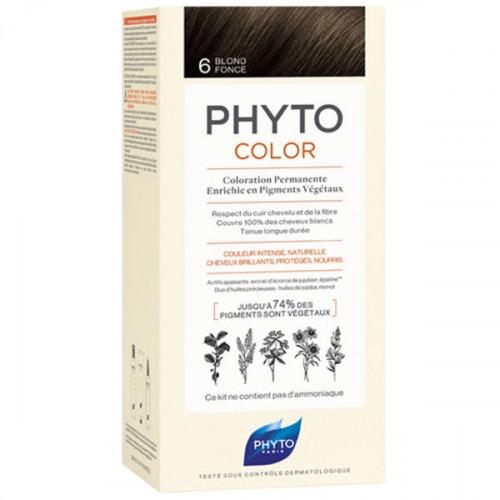 Phyto PhytoColor Kit coloration permanente 6 Blond Foncé