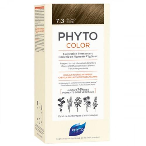 Phyto PhytoColor Kit coloration permanente 7,3 Blond Doré