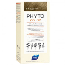 Phyto PhytoColor Kit coloration permanente 8,3 Blond Clair Doré