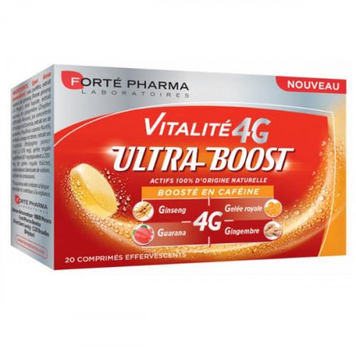 Forté Pharma Vitalité 4G Ultra-Boost 20 Comprimés Effervescents