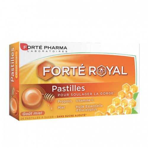 FORTÉ PHARMA PASTILLES ROYALES GOÛT MIEL 24 PASTILLES À SUCER