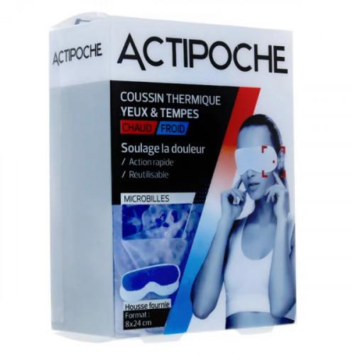 Cooper Actipoche Coussin thermique Yeux et tempes Microbilles