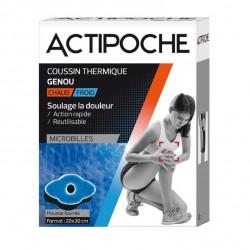 Actipoche Coussin Thermique Microbilles Genou 20 x 30 cm