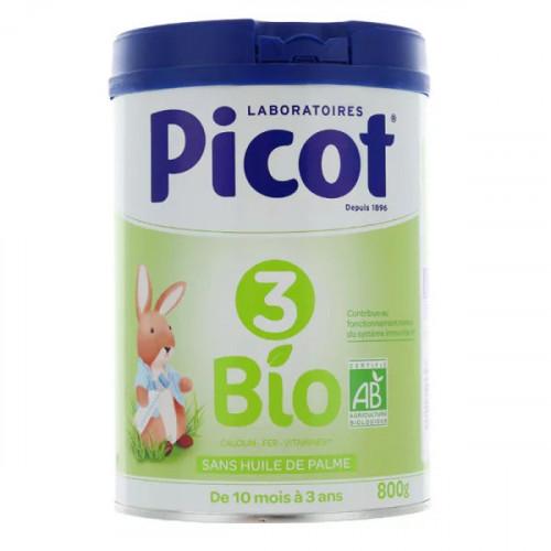 Picot 3 lait de croissance Bio 800 g
