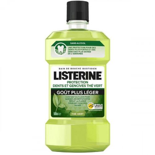 Listerine Protection Dents et Gencives au Thé Vert 500 ml