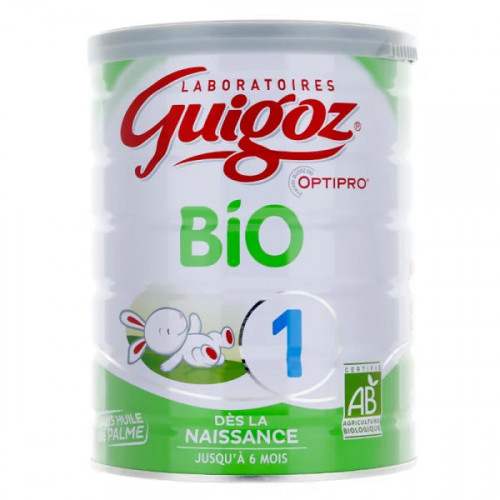 Guigoz Bio lait 1er âge 800 g
