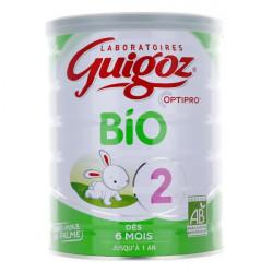 Guigoz Bio lait 2ème âge 800 g
