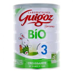 Guigoz Bio Croissance lait 3ème âge 800 g