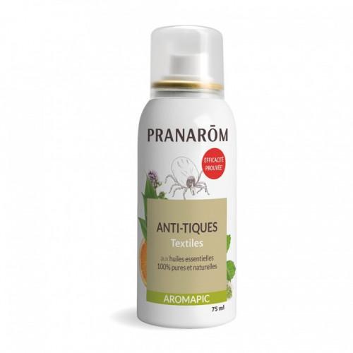 Pranarom Aromapic Spray Anti-Tiques Textiles 75 ml