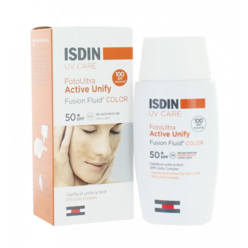 ISDIN FOTOULTRA 100 ACTIVE UNIFY COLOR FUSION FLUID SPF 50+ 50 ML