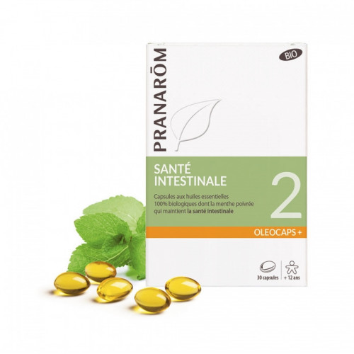 PRANARÔM OLEOCAPS 2 Caps santé intestinale bio B/30