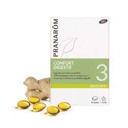 PRANARÔM OLEOCAPS 3 Caps confort digestif bio B/30