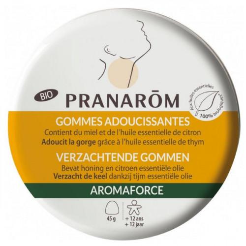 Pranarôm Aromaforce Biogommes Adoucissantes Miel 45 gommes