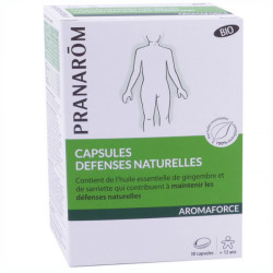 Pranarom Aromaforce Bio Défenses Naturelles 30 capsules