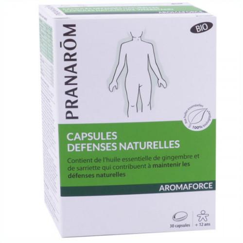 Pranarom Aromaforce Bio Défenses Naturelles 30 capsules